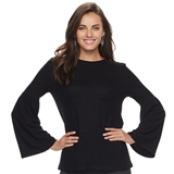 Kohl'sWomen's Apt. 9® Knit Bell Sleeve Top