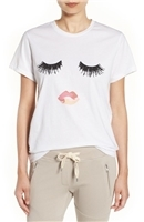 'Lips & Lashes' Graphic Tee