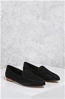 Faux Suede Loafers