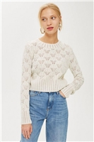 Geo Stitch Sweater
