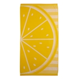 Celebrate Summer Together Lemon Slice Turkish Cotton Beach Towel