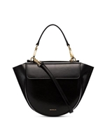 Wandler Black Hortensia Mini Lamb Skin Shoulder Bag - Farfetch