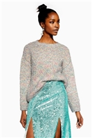 Tinsel Oversized Jumper - The Going Out Sale - Sale